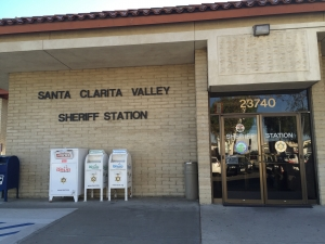 Santa Clarita Sheriff Station. Photo, SCV Bail Bonds