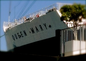Long Beach Queen Mary. Photo by Robin Sandoval
