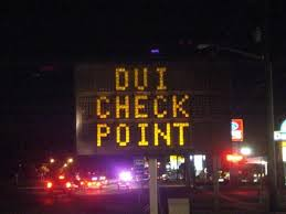 DUI Checkpoint in Los Angeles