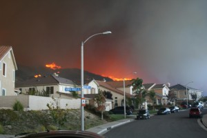 Bail Bonds for Arson Charges in California. Photo, SCV Bail Bonds