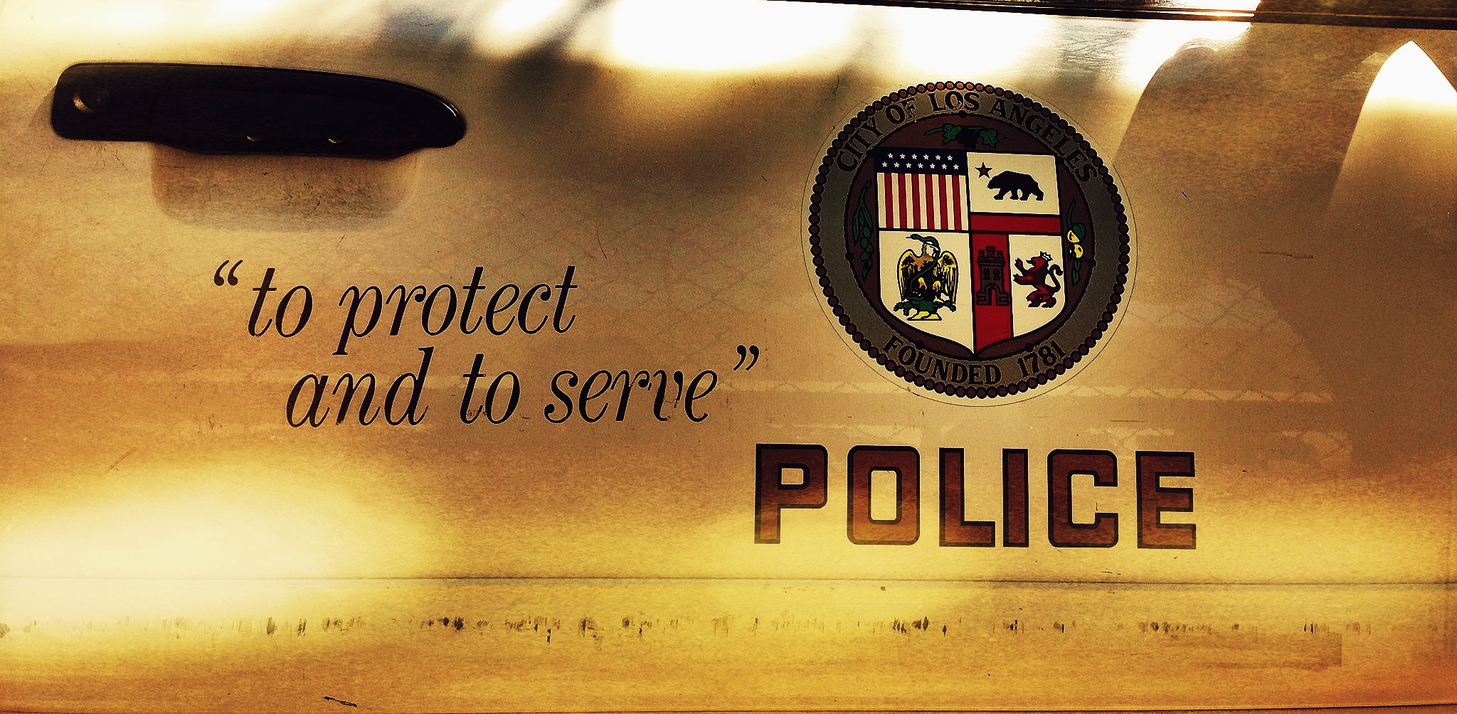 Los Angeles Police Department. Photo. SCV Bail Bonds