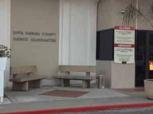 Santa Barbara Sheriff's Headquarters.
